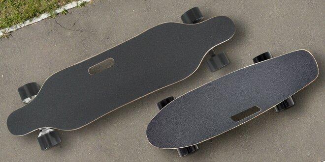 Elektrické longboardy s dálkovým ovladačem