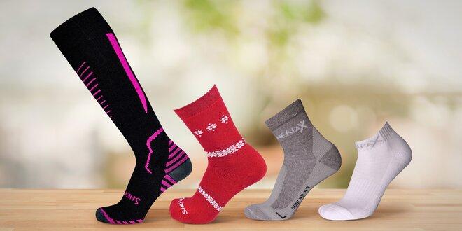 Sportovní i kotníkové ponožky: velikosti 35–49