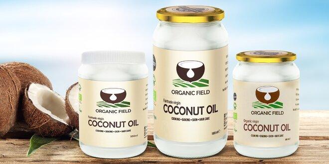 Bio panenské kokosové oleje ze Srí Lanky