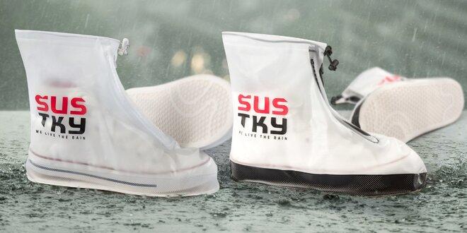 Šustky: praktický nepromokavý obal na boty