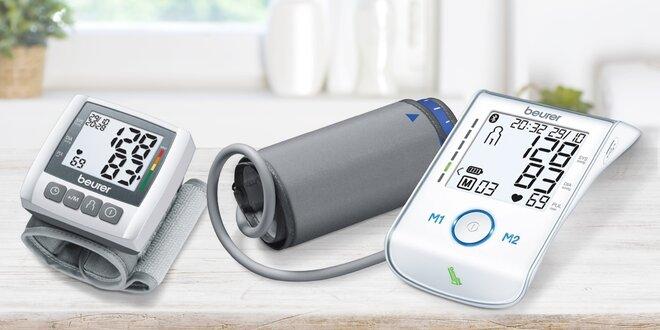 Přehledné digitální tlakoměry na zápěstí i paži