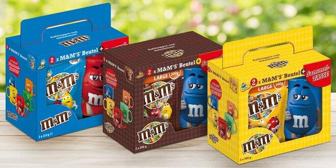 Dárkové balení bonbónů M&M's s hrnečkem
