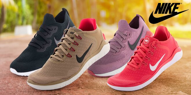 Běžecké boty Nike pro dámy i pány: béžové, červené, růžové i černé