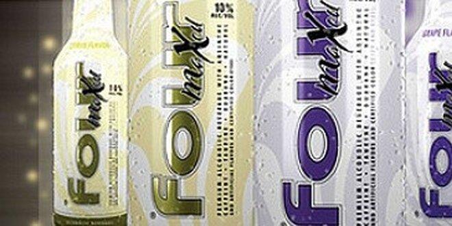 Lavish a Four Maxed - alkoholové nápoje s vynikající chutí - 12 kusů