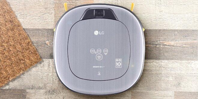 Robotický vysavač LG se 7 režimy vysávání