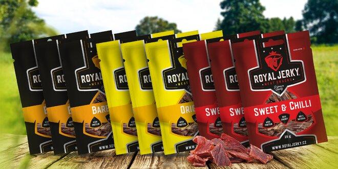 Royal Jerky: sušené maso z prémiového hovězího