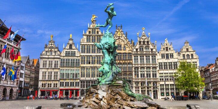Kouzelná Belgie: 2 noci v hotelu se snídaní, autobusová doprava i průvodce