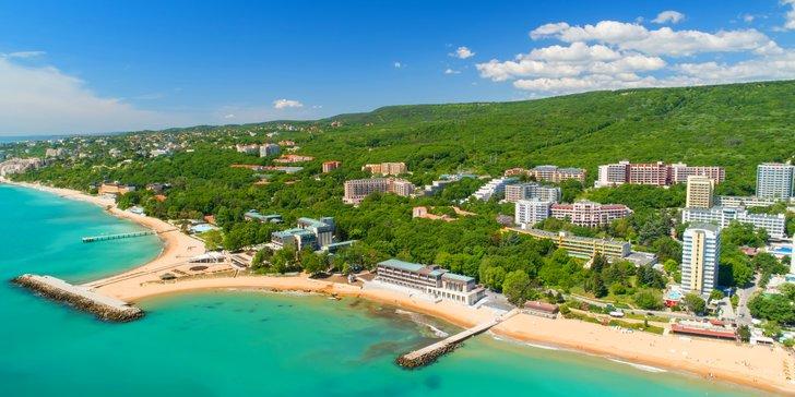 Bulharsko, Zlaté Písky: letecká dovolená v 4* hotelu s bazénem a all inclusive