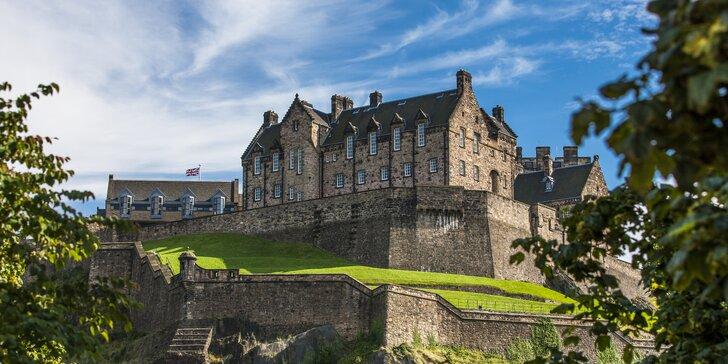 Skotsko: zpáteční letenka z Prahy, 4 noci v hotelu i nabitý program