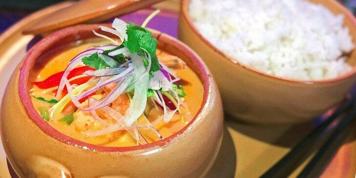 Otevřený voucher v hodnotě 250 nebo 500 Kč do asijské restaurace Enjoy Asian Cuisine