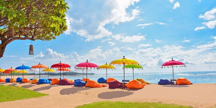 Luxusní 5* resort na Bali: 6–12 nocí, snídaně, 2 bazény, zábavní programy