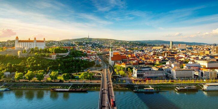 Relax v klidné části Bratislavy: pobyt se snídaní a vstupem do bazénu