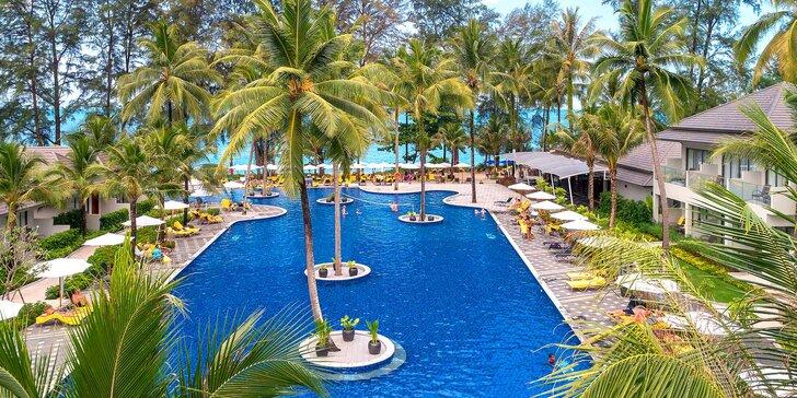 Překrásný 5* resort v exotickém Thajsku: 6–12 nocí, snídaně, malý aquapark