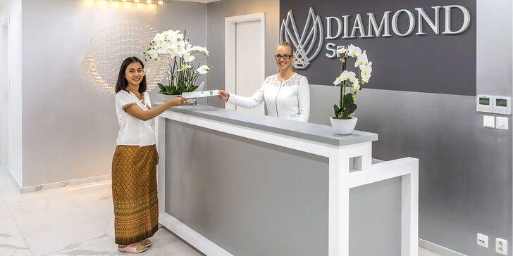 Thajská masáž v luxusním salonu Diamond Spa dle výběru