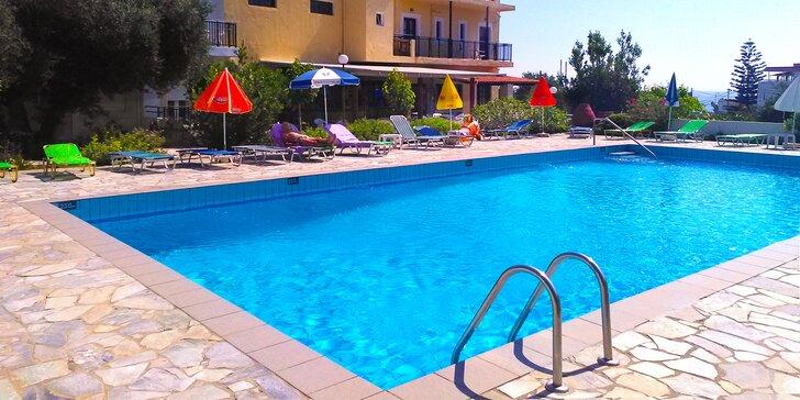 Letecky na Krétu: 7 nocí s all inclusive, hotel v centru letoviska Hersonissos