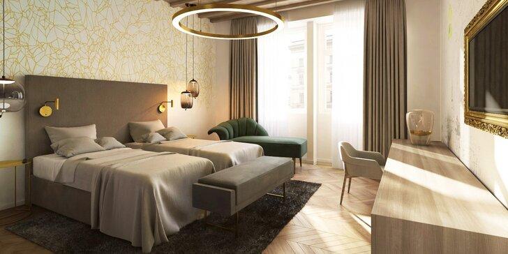 Objevte kouzlo Českého Krumlova: pobyt v nově zrekonstruovaném hotelu se snídaní