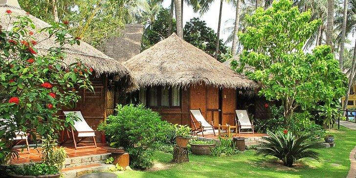 Pravá exotika v 4* resortu ve Vietnamu: 6–12 nocí, polopenze, 2 bazény