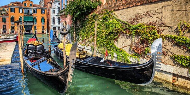 Poznejte krásy Benátek a Benátských ostrovů: 4 noci, snídaně, letecká doprava