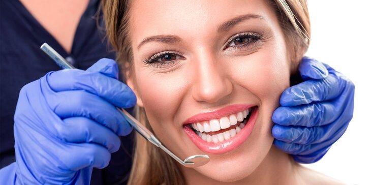 Krásný úsměv: Kompletní dentální hygiena pro dospělé vč. AirFlow