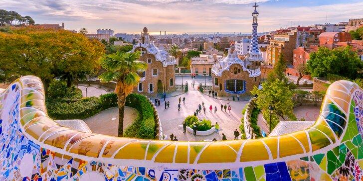 Barcelona letecky: 3 noci s ubytováním v 3* hotelu a průvodce k dispozici