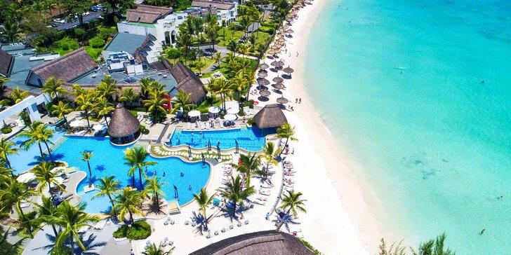 Odpočiňte si v exotickém 4* resortu na Mauriciu: 6–12 nocí s all inclusive, bazén i fitness
