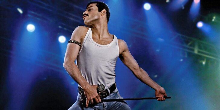 Dvě vstupenky do kina Lucerna na hudební velkofilm Bohemian Rhapsody
