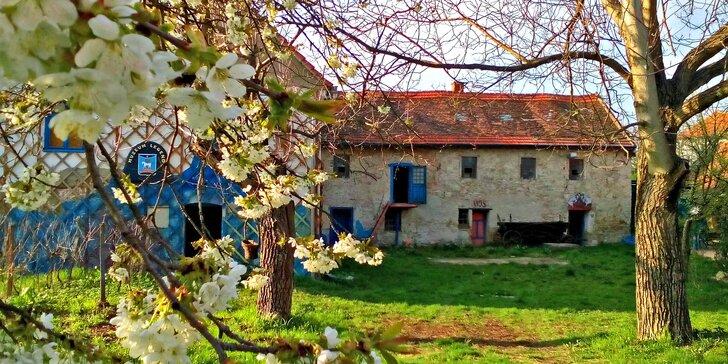 Ubytování v originálním mlýnském apartmánu pro milovníky kumštu