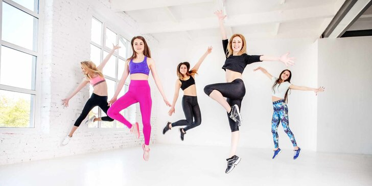 Dejte své tělo do formy: 3 lekce tance a cvičení v Praze