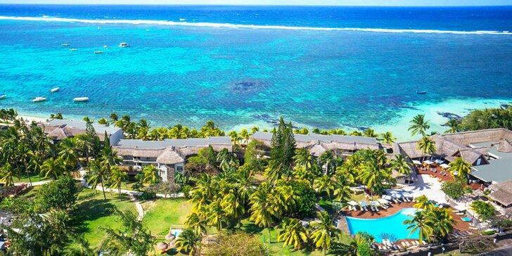 4* resort na Mauriciu: 6–12 nocí, all inclusive, bazén, vířivka, přímo na pláži