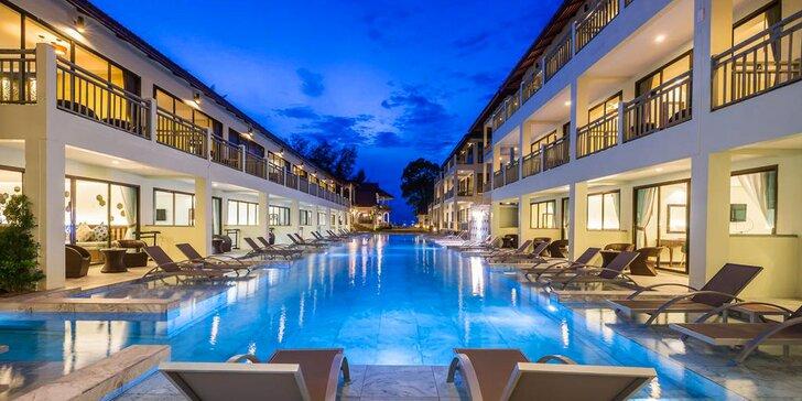 Exotický 4* resort v Thajsku pro dokonalý relax: 6–12 nocí, snídaně, lázně