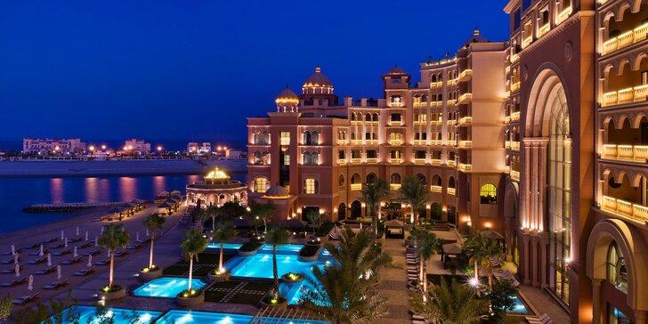 Luxus a odpočinek v Kataru: 4–11 nocí v 5* plážovém resortu s plnou penzí