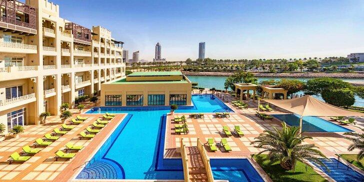 Nádherný 5* resort u soukromé pláže v Kataru: 4–11 nocí s plnou penzí a spa