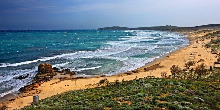 Letecky na dovolenou do Řecka: 7, 10 nebo 11 nocí na ostrově Limnos, polopenze