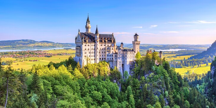 Pohádkové zámky krále Ludvíka Bavorského – Neuschwanstein a Linderhof