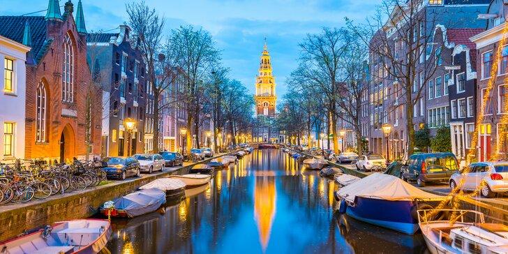 Adventní Amsterdam, Festival světel a degustace sýrů s průvodcem