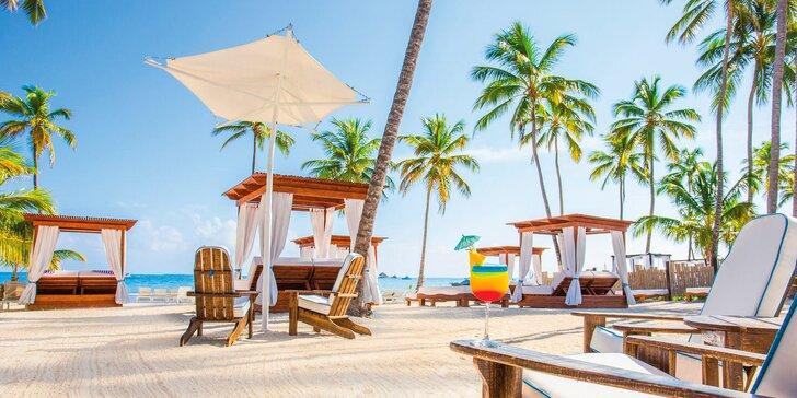 4* resort v Dominikánské republice: 7–13 nocí, all inclusive, 2 bazény, u pláže