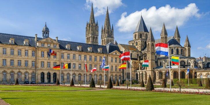 5denní autobusový zájezd do Normandie a Bretaně: služby průvodce a ubytování se snídaní