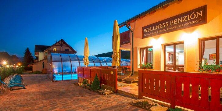 Báječná relaxace u Bešeňové: polopenze, wellness a balíček slev