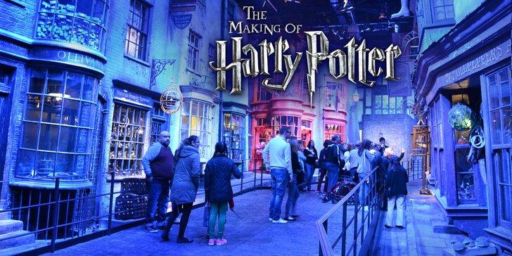 Autobusem do Londýna: filmové ateliéry Harryho Pottera s možností návštěvy Madame Tussaud's