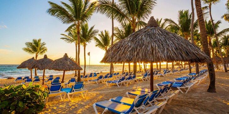 4* resort v Dominikánské republice: 7–13 nocí, all inclusive, 3 bazény, u pláže