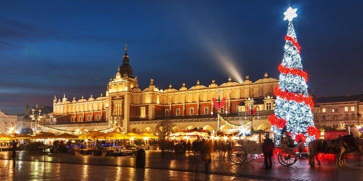 Adventní výlet do Krakova: průvodce, doprava autobusem, nápoj zdarma