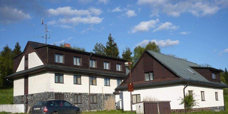 Odpočinek v Beskydech: penzion na samotě s polopenzí