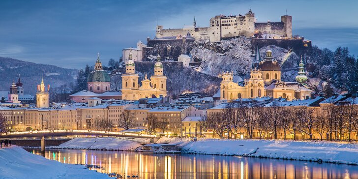 Advent jako z pohádky: výlet na vánoční trhy v Salzburgu vč. prohlídky města
