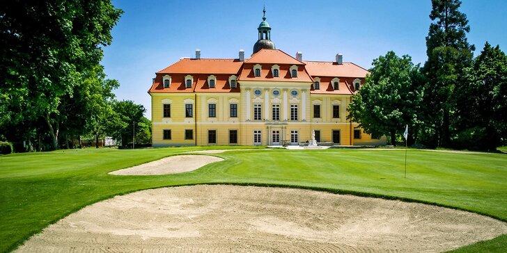 Golfový resort na Slovensku: ubytování v apartmánu nebo historickém zámečku