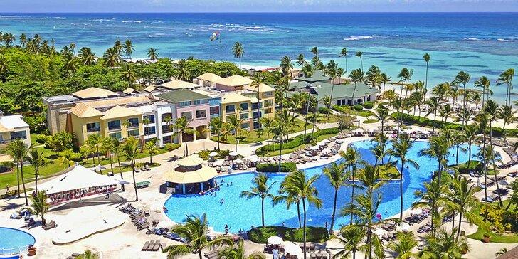 4* resort v Dominikánské republice: 7–13 nocí v apartmá, all inclusive, bazény
