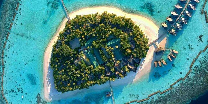 Exotika a odpočinek ve 4* resortu na Maledivách: 6–12 nocí s all inclusive