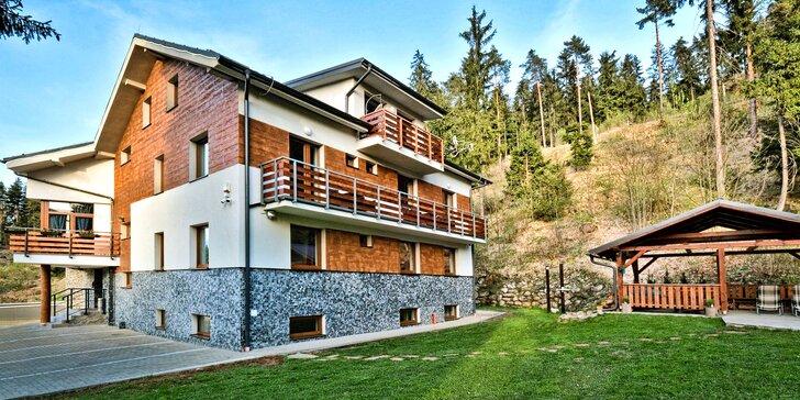 Pobyt v apartmánu nebo studiu v NP Nízké Tatry: kuchyňka, infrasauna, gril i slevy