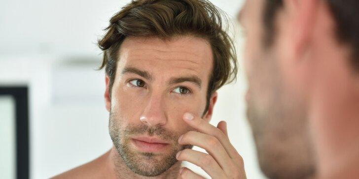 Nově sestavené balíčky profesionálního kosmetického ošetření pleti pro muže