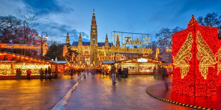 Adventní trhy v císařské Vídni: jednodenní výlet a prohlídka města s průvodcem