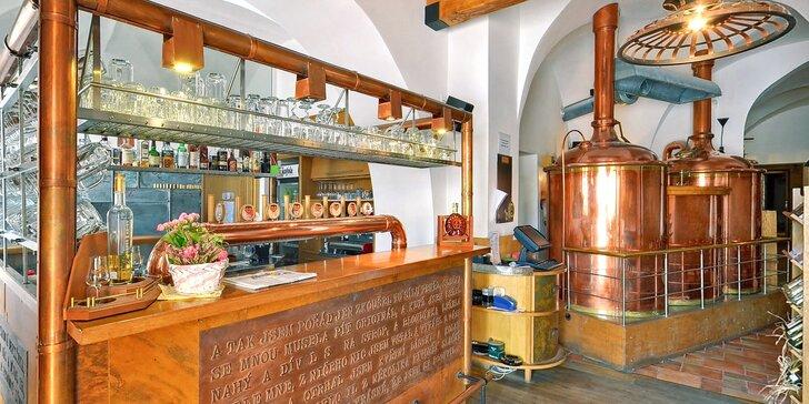 Rodinný pivovar v Kroměříži: UNESCO, pobyt, jídlo i exkurze
